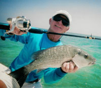 Capt. Tim Carlile - The Outcast - flats and backcountry fishing on Sugarloaf Key, FL